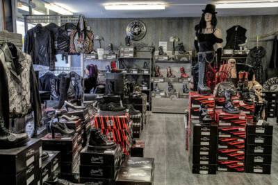 Gothic Boots und Schuhe