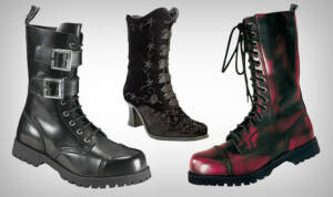 Boots & Braces Rangers Schnallenstiefel