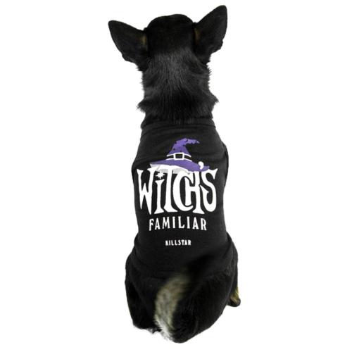Killstar Hunde-Shirt Witch's Familiar